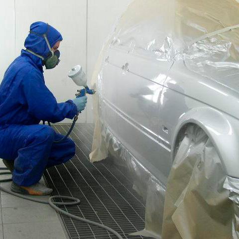 Покраска авто своими руками камеры